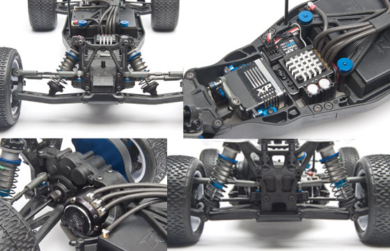 B5M 1/10th Scale Off-Road Buggy Kit [AS90003] : MSD Models